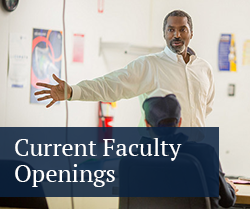 Faculty Openings