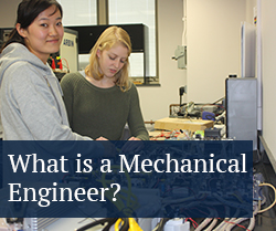 What is a mechanical engineer